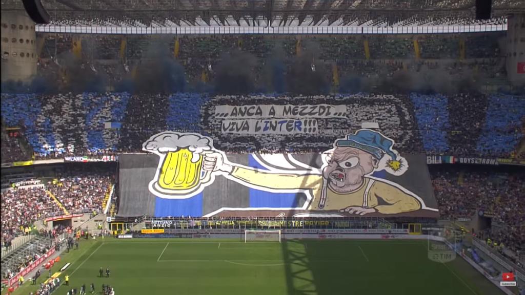 Inter prima per spettatori in Italia, stadi sempre più pieni