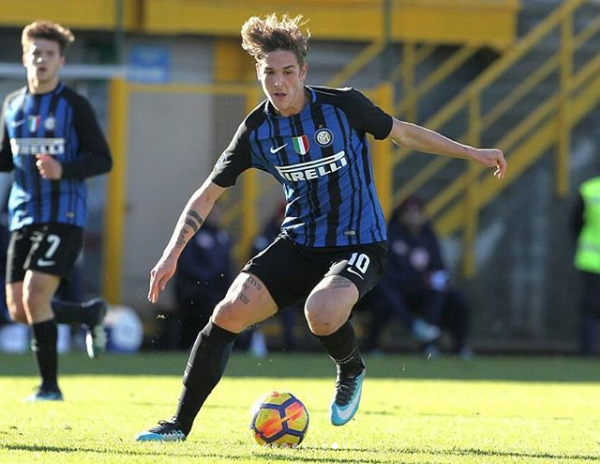 Image result for nicolo zaniolo inter
