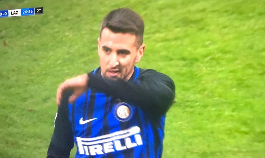 """Vecino: """"Ora  non gioco, ma sono felice per l'Inter. Clan? Tutte balle?"""""""