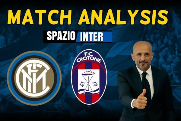 MATCH ANALYSIS Inter - Crotone: sarà il match della svolta?