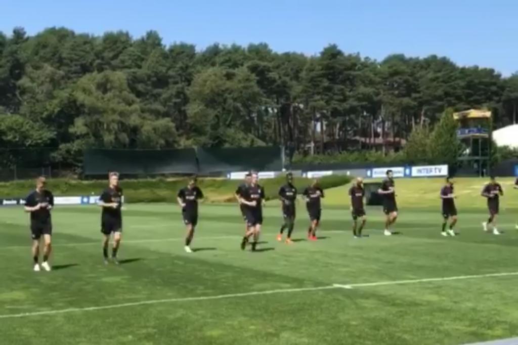 Primo allenamento post derby, ecco il lavoro svolto dai nerazzurri in vista di Inter-Lazio