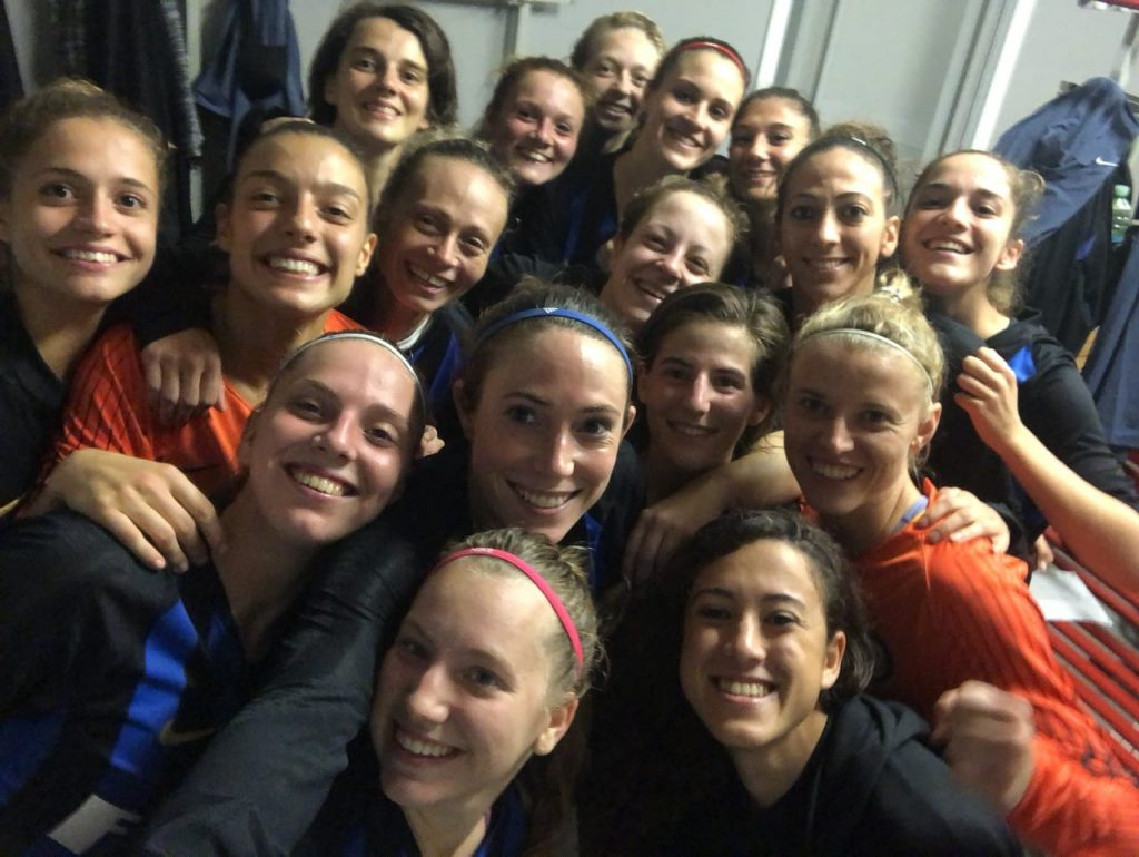 Inter Femminile, sesta vittoria consecutiva: battuto 3 a 0 l'Arezzo