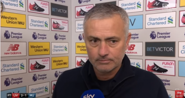 """Mourinho: """"Non sono l'Inter. Ho dato tutto a tutti e questo è quello che farò qui"""""""