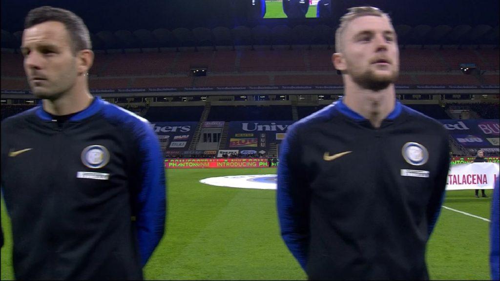 Inter-Juve, difese a confronto: trio contro duo