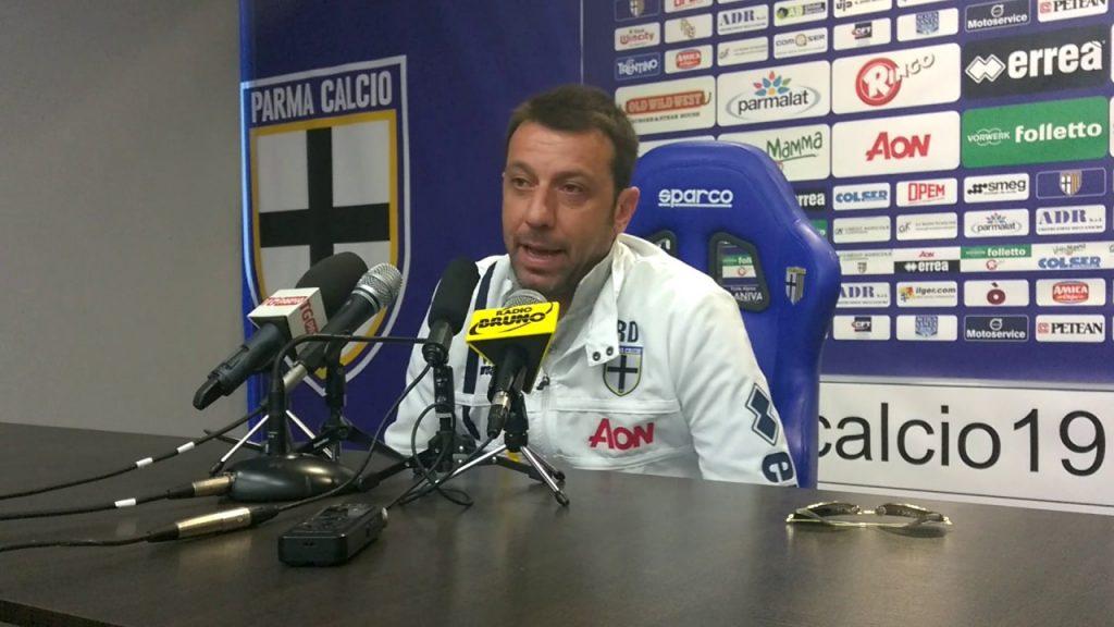D'Aversa in conferenza stampa: