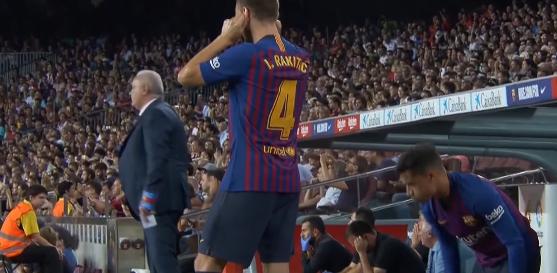 Rakitic, periodo difficile a Barcellona: l'Inter pronta in caso di addio