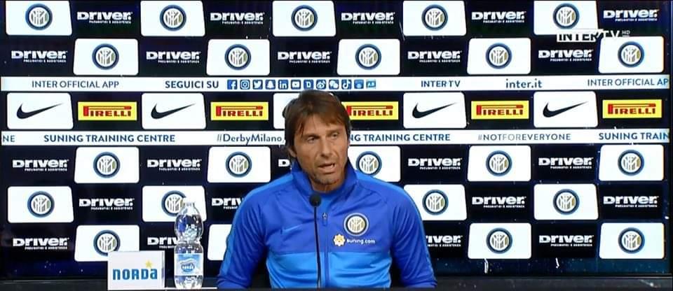 Milan-Inter: la conferenza Conte: