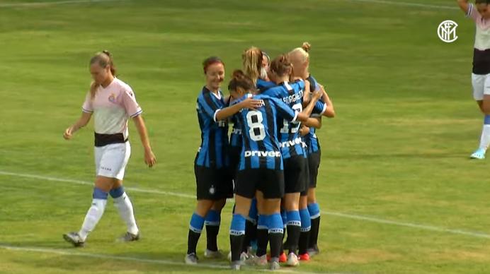 Inter Women, vittoria per 8-1 in amichevole con la Novese