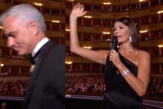 Figuraccia di Ilaria D'Amico, la presentatrice fa irritare Mourinho