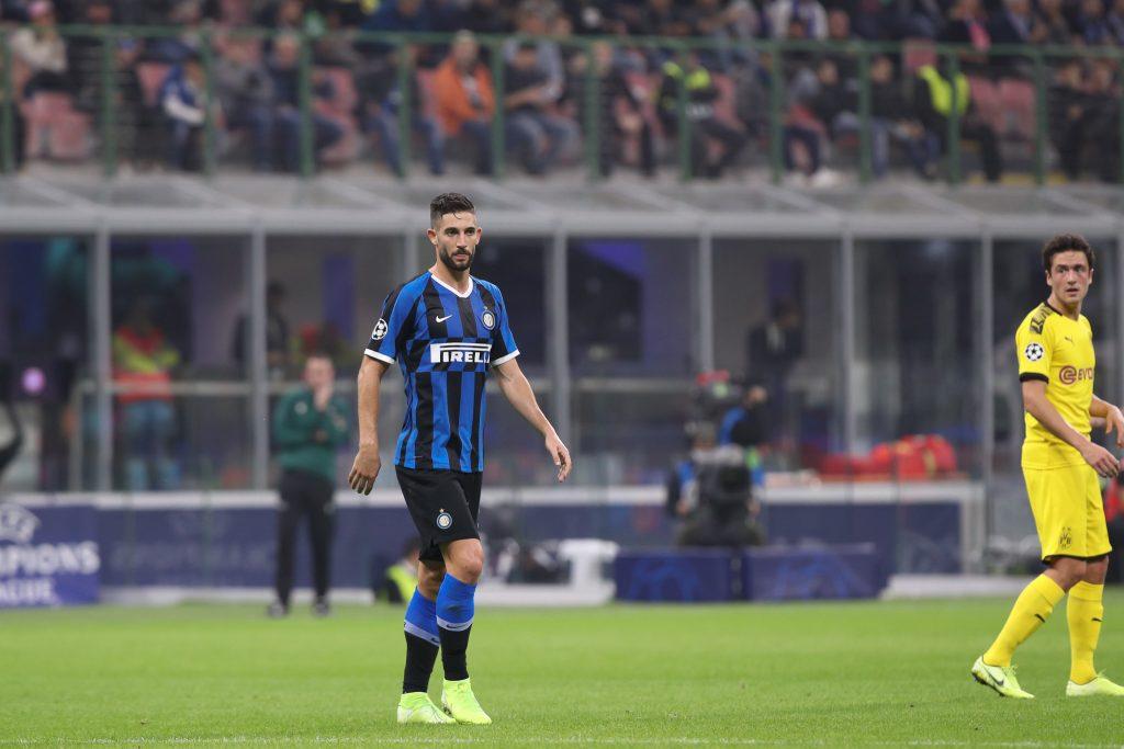 Inter, contro la Lazio Gagliardini potrebbe partire titolare