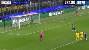Inter-Borussia rigore