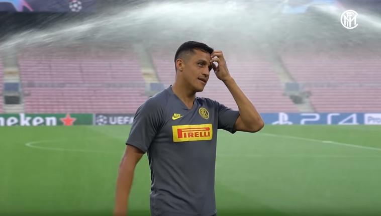 Inter, guaio Sanchez: contrattura all'adduttore destro