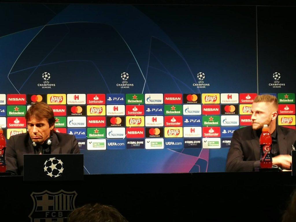 Barcellona-Inter, la conferenza di Conte: