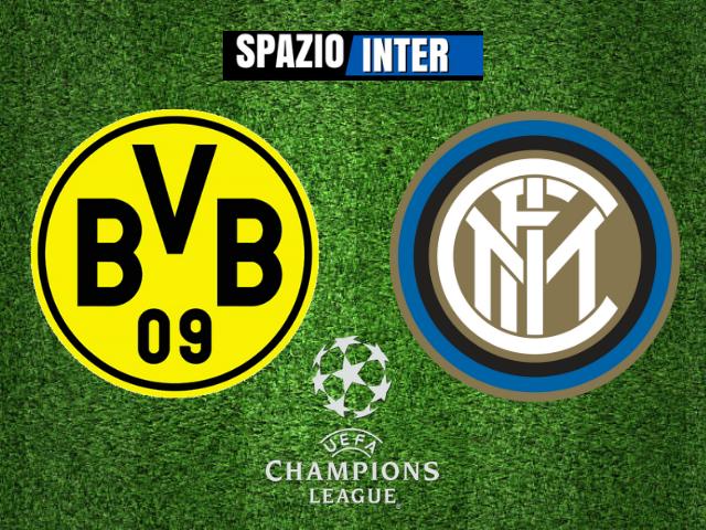 LIVE Borussia Dortmund-Inter 3-2 (5' Lautaro, 40' Vecino 50', Hakimi 63', Brandt, 77' Hakimi): Disfatta nerazzurra