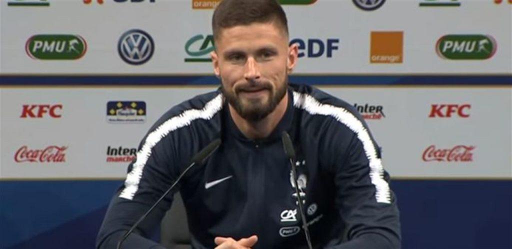 TS - Giroud chiama Conte: le sue parole sanno di addio. Inter alla finestra