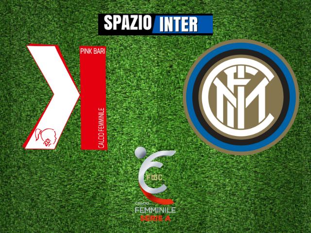 LIVE - Pink Bari - Inter Women 1-1 (11' Zammit, 28' Tarenzi): Finisce così all'Antonucci di Bitteto