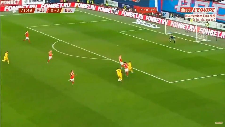Il Belgio batte nettamente la Russia: anche Lukaku partecipa alla festa del gol