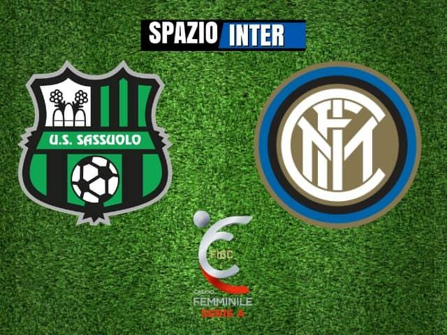Sassuolo-Inter Women 1-0: decisivo il gol di Pugnali
