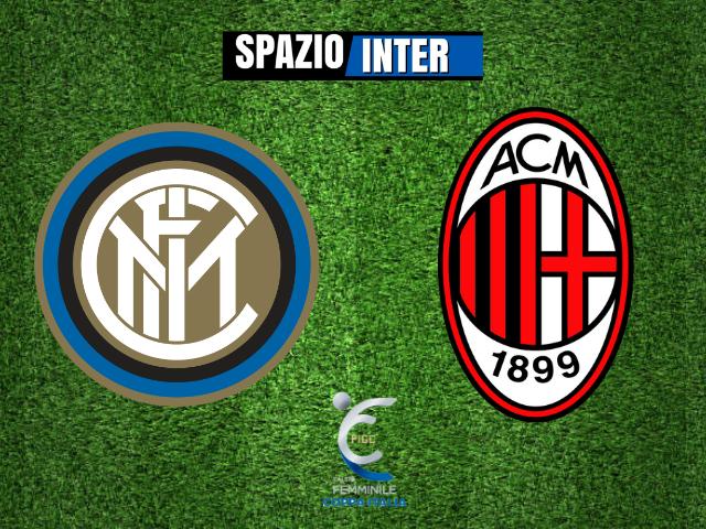 Inter - Milan femminile 1-4: rossonere ai quarti di finale