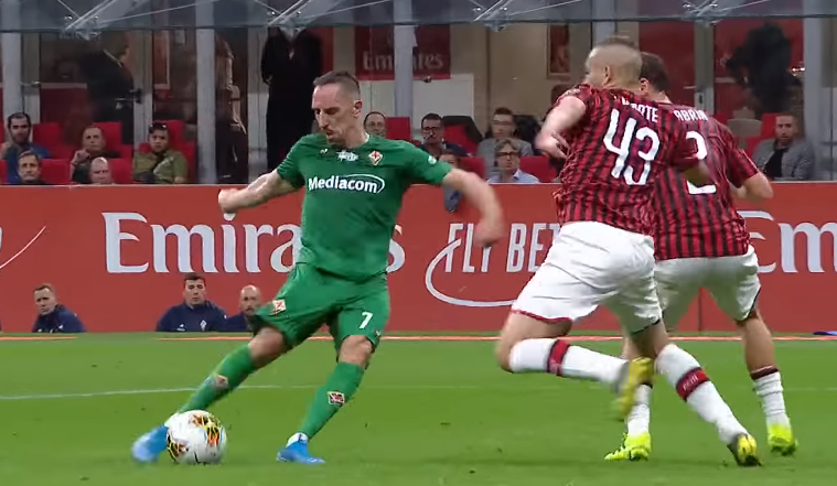 Fiorentina: Ribery salta l'Inter! Il comunicato dei viola