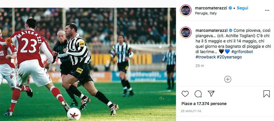 Materazzi punge la Juve: