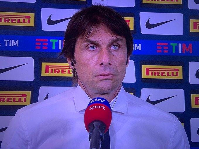 Conte, pacata discussione con Marocchi:
