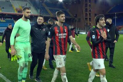 Pari tra Milan e Parma, l'Inter ora è a -3