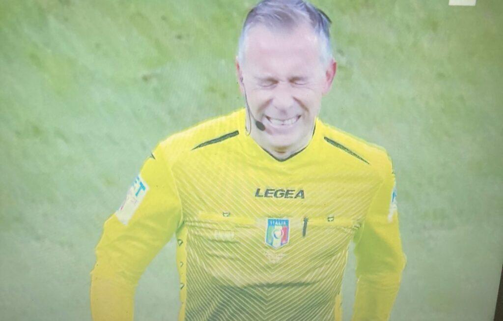 Inter-Milan, infortunio per l'arbitro Valeri, al suo posto Chiffi