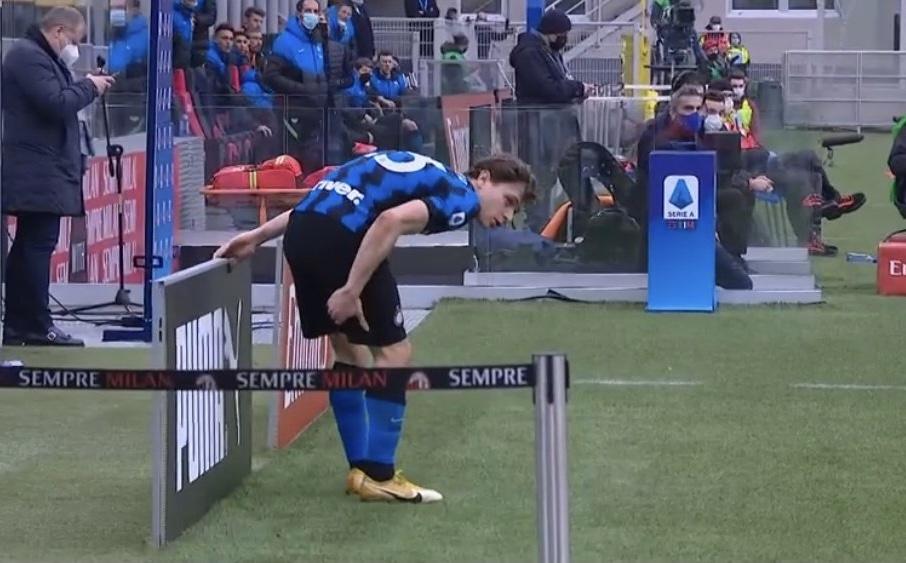 Inter, Barella sostituito da Conte. Ecco il motivo