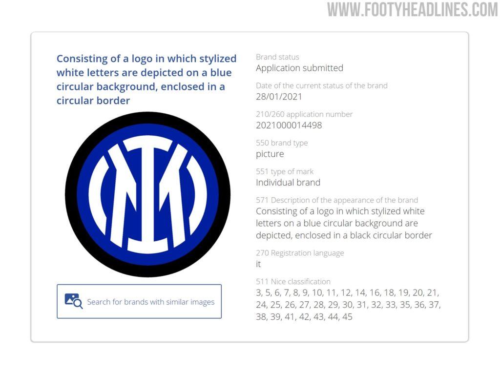FOTO - L'Inter ha presentato la domanda per il nuovo logo: sta ufficialmente per nascere l'Inter Milano