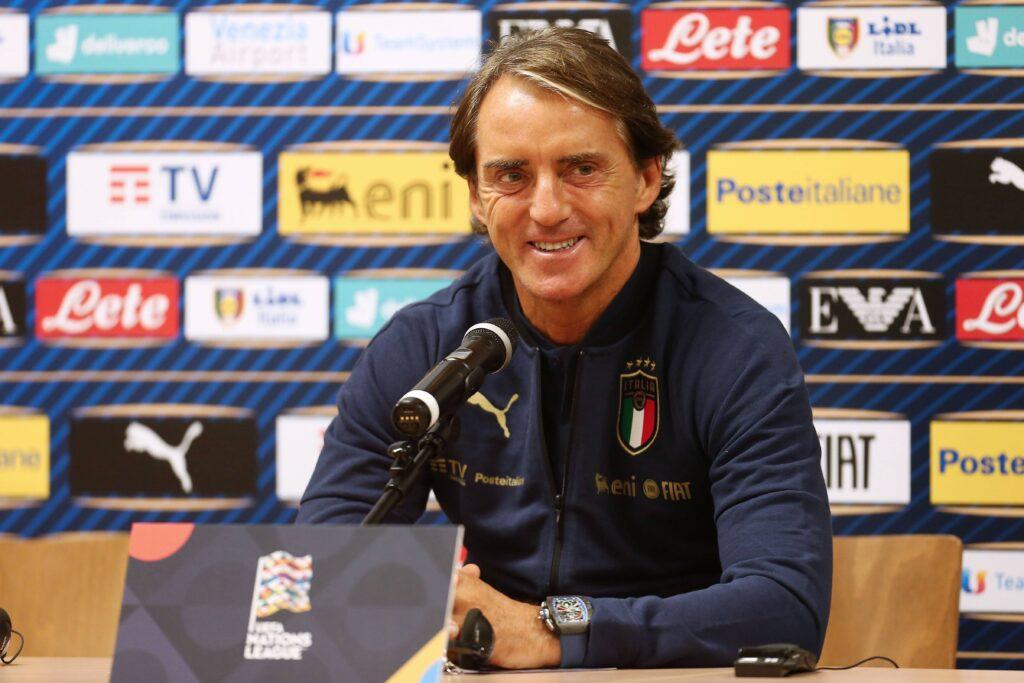 Italia-Spagna, Mancini schiera a sorpresa un giocatore dell'Inter