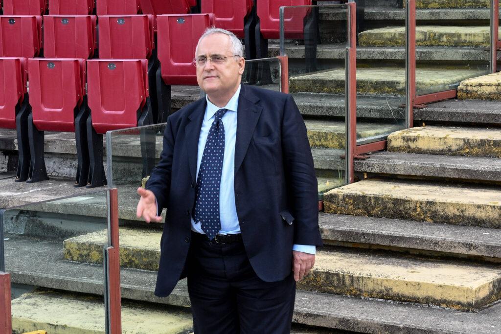Lazio-Inter, il presidente Lotito suona la carica: le parole