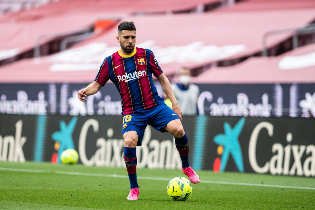 L'Inter vuole Jordi Alba: ecco la richiesta del Barcellona