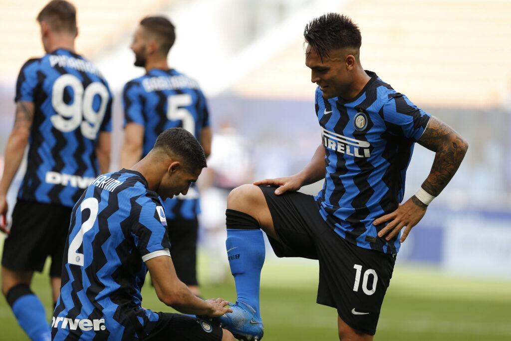 Hakimi o Lautaro, l'Inter deve decidere chi far cadere dalla torre