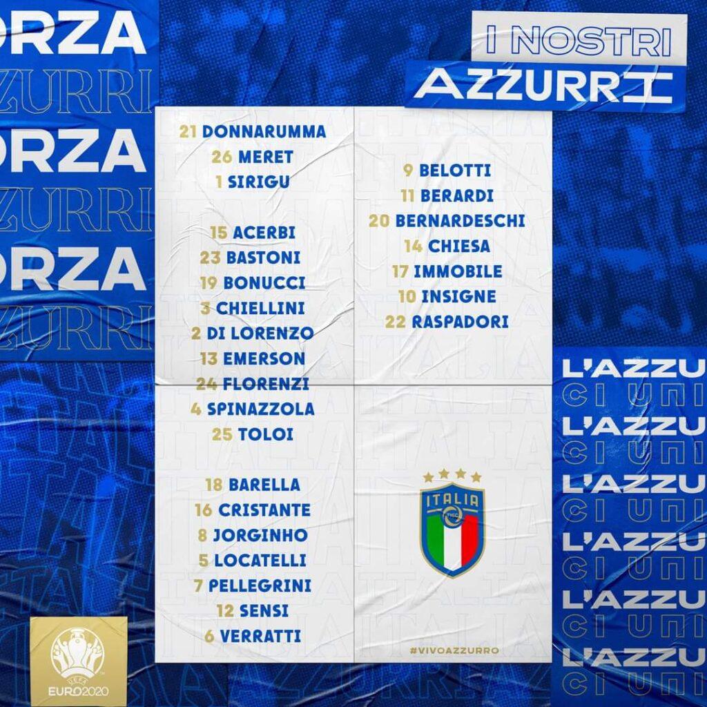 Euro 2020, le scelte di Mancini: c'è Sensi. Convocati anche Barella e Bastoni