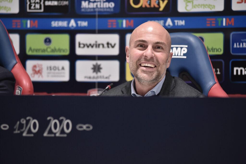 Il Presidente del Cagliari si esprime sul calciatore dell'Inter: