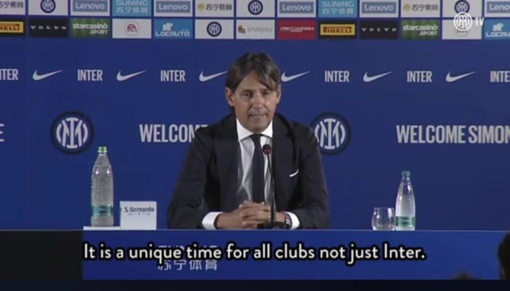 Inzaghi si presenta: