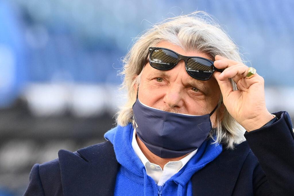 Arbitraggio di Sampdoria-Inter: la frecciata di Ferrero ai nerazzurri