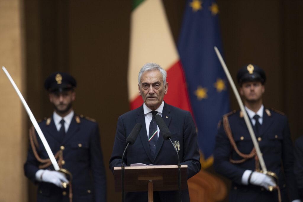 Il Presidente FIGC Gravina tuona: