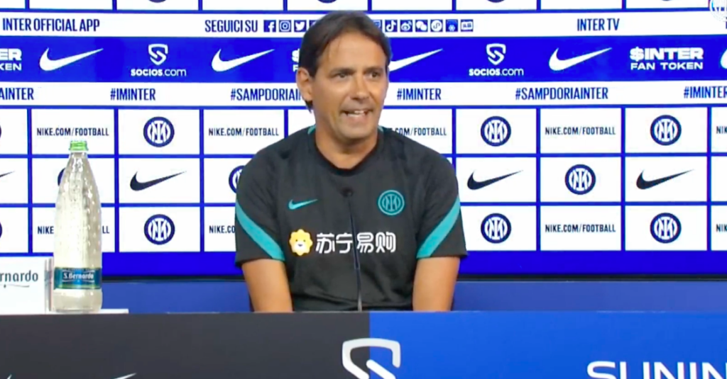Inzaghi in conferenza: