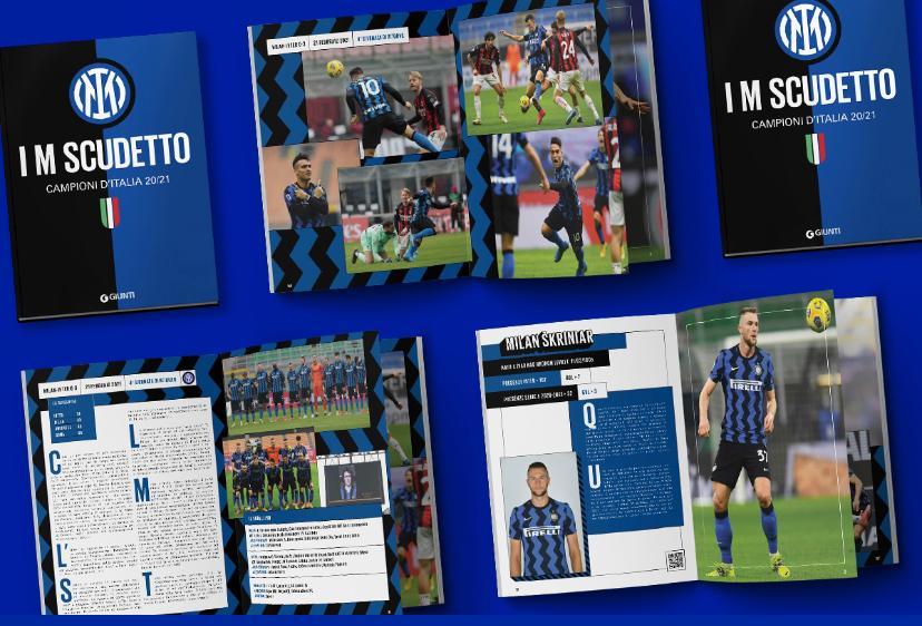 Inter, in vendita il libro ufficiale dello scudetto: