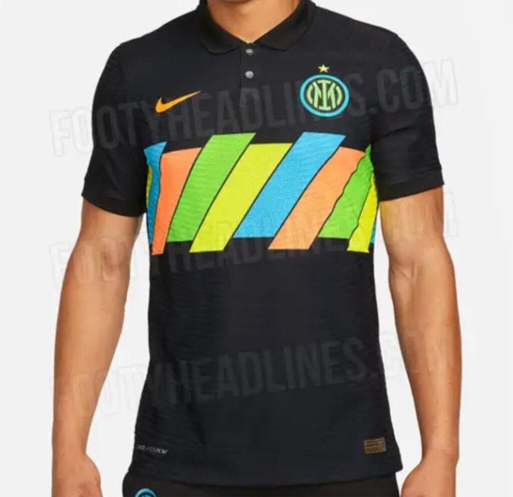 Svelata ufficialmente la terza maglia dell'Inter in questa stagione