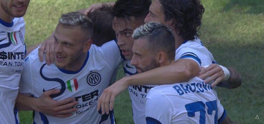 Sampdoria-Inter, le pagelle: Lautaro highlander, Calha-Perisic sbagliano troppo