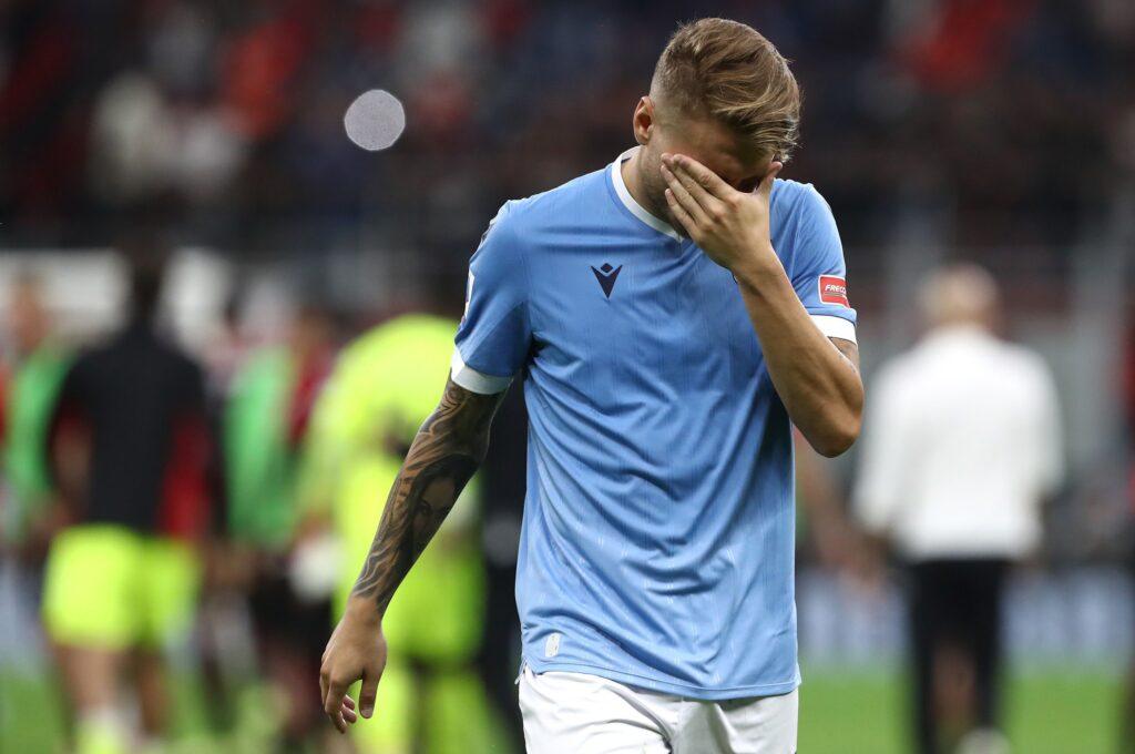 Verso Lazio-Inter: le ultime sulle condizioni di Immobile