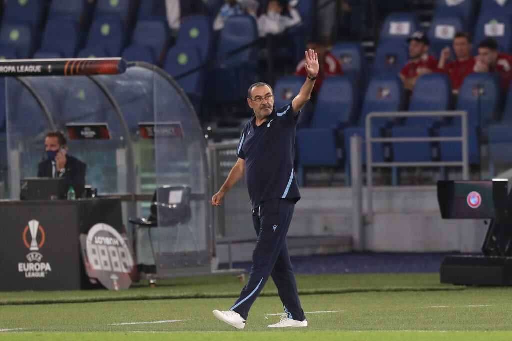 Verso Lazio-Inter: Sarri recupera due giocatori