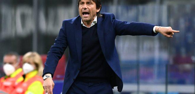 Db Milano 12/05/2021 - campionato di calcio serie A / Inter-Roma / foto Daniele Buffa/Image nella foto: Antonio Conte PUBLICATIONxNOTxINxITA