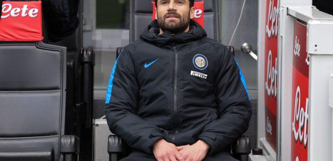 Candreva Antonio, FC INTER vs BOLOGNA FC, Serie A Tim 2017/2018 24 giornata, Milano 11 febbraio 2018 stadio San Siro (c) Fabrizio Andrea Bertani