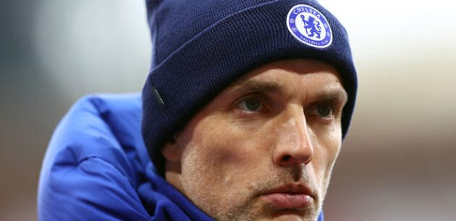 Thomas Tuchel File Photo File photo dated 20-02-2021 of Chelsea manager Thomas Tuchel. Issue date: Wednesday April14, 2021. FILE PHOTO EDITORIAL USE ONLY No use with unauthorised audio, video, data, fixture lists, club/league logos or live services. Online in-match use limited to 120 images, no video emulation. No use in betting, games or single club/league/player publica... PUBLICATIONxINxGERxSUIxAUTxONLY Copyright: xMichaelxSteelex 59178414