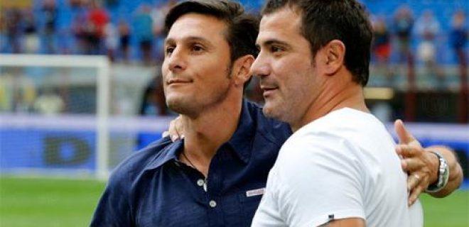Addio Dejan Stankovic abbraccio Zanetti San Siro 06