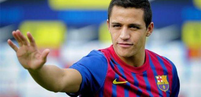 Alexis Sanchez Barcellona